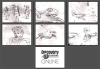 Discovery Channel Online Storyboard