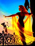 • Leodora / Illustration for the 2014 Literary Pin-up Calendar