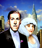 H.P. Lovecraft and Sonia Greene