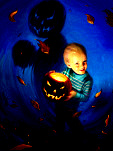 • Trick or Treat / Illustration for the Month of Fear
